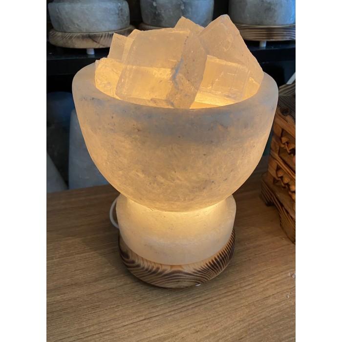Tuz Lambası (çanak model)